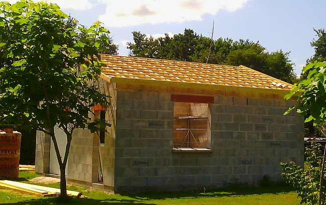 ecotech-construction-Charpente traditionnelle
