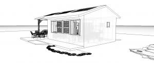 Modèle 2.1 - Perspective Sud Est 2
