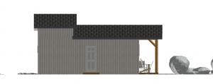 Modèle 3 - Façade Nord