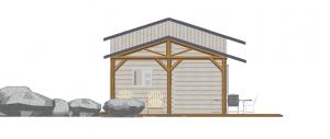 Modèle 3 - Façade Ouest