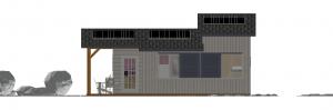 Modèle 3 - Façade Sud