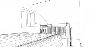 Modèle 3 - Perspective Mezzanine 2