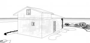 Modèle 3 - Perspective Nord Est 2