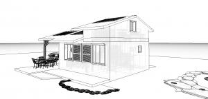 Modèle 3 - Perspective Sud Est 2