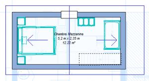 Modèle 3 - Plan Mezzanine