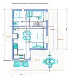 Modèle 3 - Plan RDC - Côté